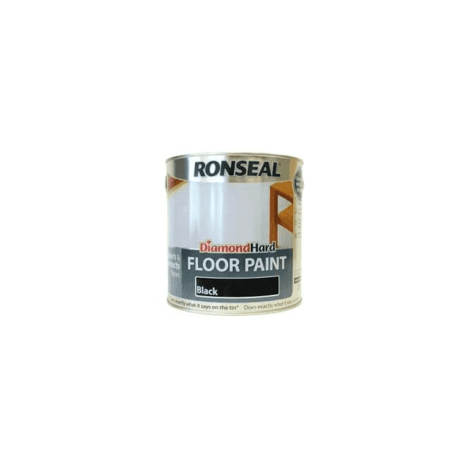Ronseal Diamond Hard Black Floor Paint 2.5 Litre