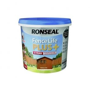 Ronseal Fence Life Plus Medium Oak 5 Litre