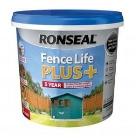 Ronseal Fence Life Plus Teal 5 Litre