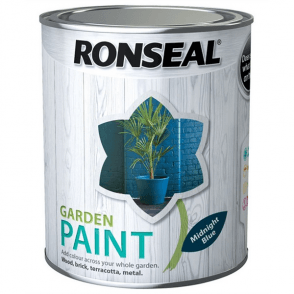 Garden Paint 2.5 Litre Midnight Blue