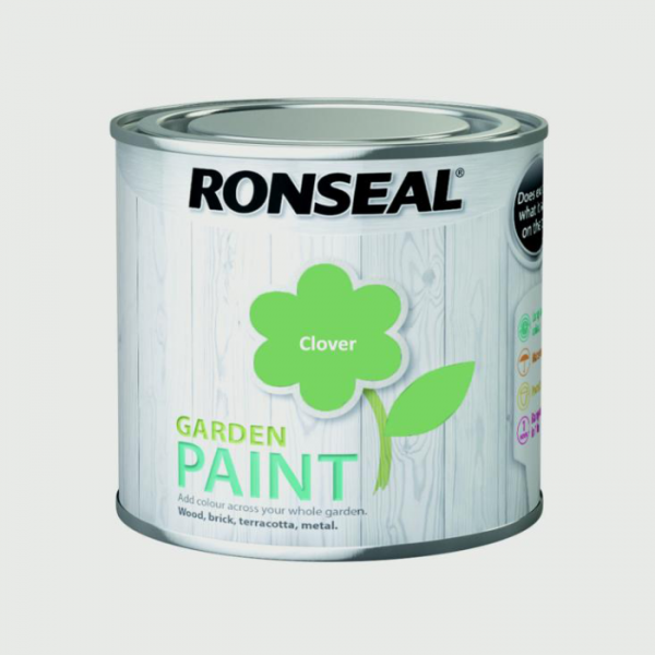 Ronseal Clover 750ml Garden Paint GW Leaders