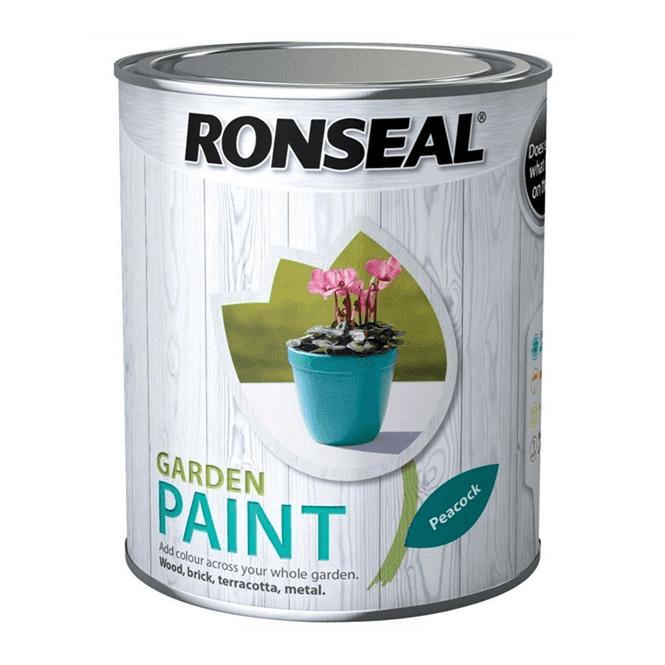 Ronseal Garden Paint 750ml Peacock