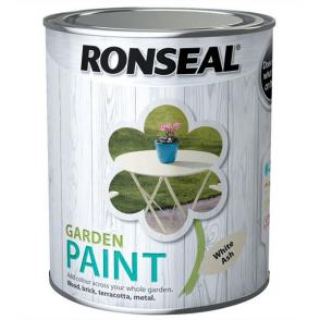 Garden Paint 750ml White Ash