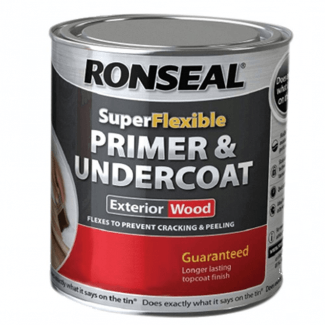 Ronseal Super Flexible Grey Primer & Undercoat 750ml