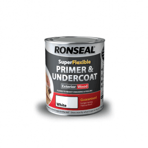 Ronseal Super Flexible White Primer & Undercoat 750ml