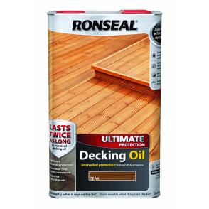 Ultimate Protection Decking Oil Teak 5 Litre