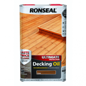 Ultimate Protection Decking Oil Teak 5 Litre