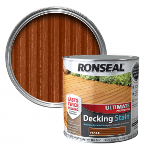 Ultimate Protection Decking Stain Cedar 2.5 Litre