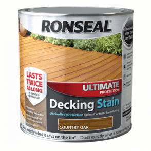 Ultimate Protection Decking Stain Country Oak 2.5 Litre