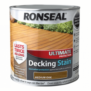 Ultimate Protection Decking Stain Medium Oak 2.5 Litre