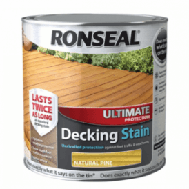 Ultimate Protection Decking Stain Natural Pine 2.5 Litre