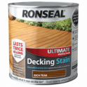 Ronseal Ultimate Protection Decking Stain Rich Teak 2.5 Litre