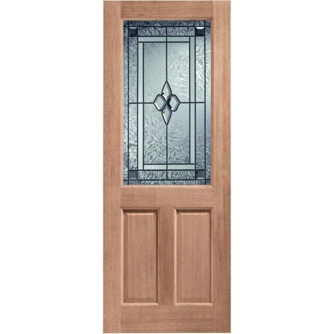 XL Joinery External Hardwood Un-finished 2XG Coleridge Glazed Door (MORTICE & TENON)