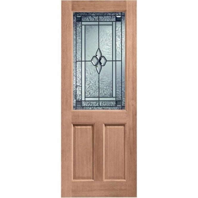 XL Joinery External Hardwood Un-finished 2XG Coleridge Glazed Door (MORTICE & TENON)