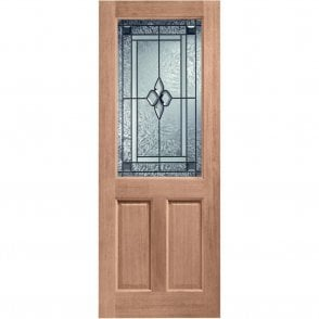 External Hardwood Un-finished 2XG Coleridge Glazed Door (MORTICE & TENON)