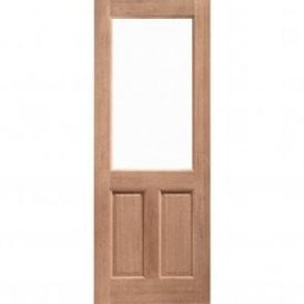 External Hardwood Un-finished 2XG Unglazed Door (DOWELLED)