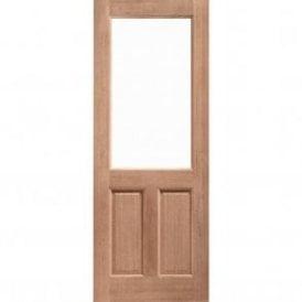 External Hardwood Un-finished 2XG Unglazed Door (DOWELLED)