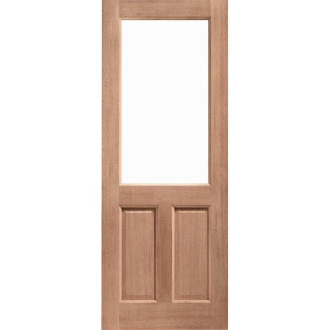 XL Joinery External Hardwood Un-finished 2XG Unglazed Door (MORTICE & TENON)
