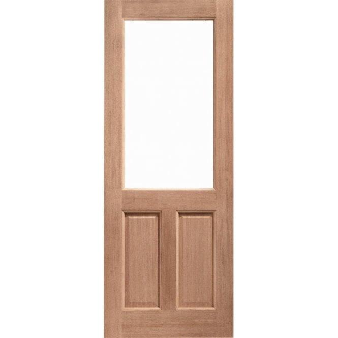 XL Joinery External Hardwood Un-finished 2XG Unglazed Door (MORTICE & TENON)