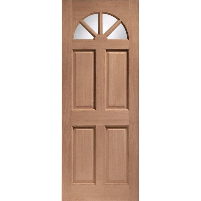 XL Joinery External Hardwood Un-finished Carolina Unglazed Door (MORTICE & TENON)