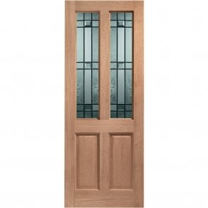 External Hardwood Un-finished Malton Drydon Double Glazed Door (MORTICE & TENON)