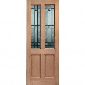 External Hardwood Un-finished Malton Drydon Double Glazed Door (MORTICE & TENON)