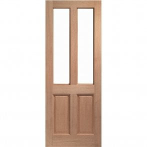 External Hardwood Un-finished Malton Unglazed Door (MORTICE & TENON)