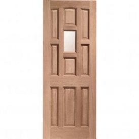 External Hardwood Un-finished York Unglazed Door (DOWELLED)