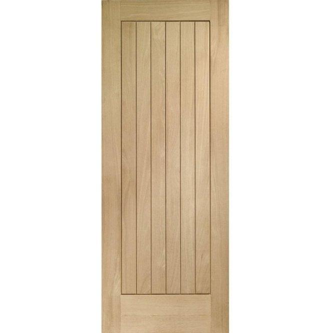 XL Joinery External Oak Un-finished Suffolk Door