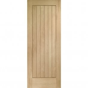 External Oak Un-finished Suffolk Door