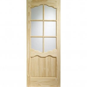 Internal Clear Pine Riviera with Clear Glass