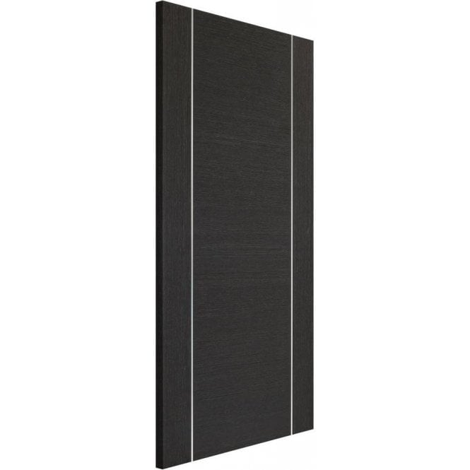 XL Joinery Internal Dark Grey Pre-Finished Forli Fire Door