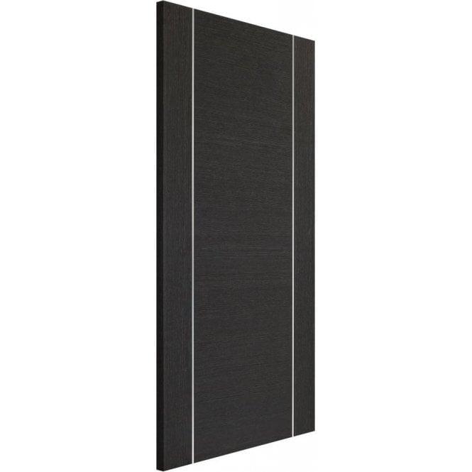 XL Joinery Internal Dark Grey Pre-Finished Forli Fire Door