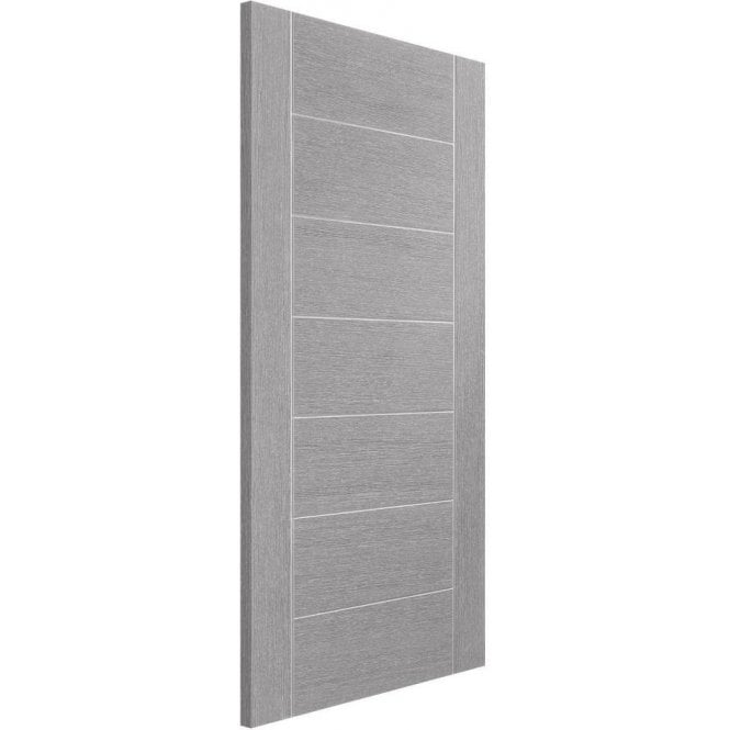XL Joinery Internal Light Grey Pre-Finished Palermo Door