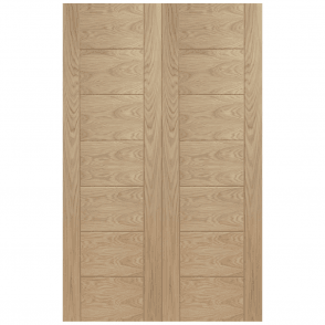 Internal Oak Palermo Pair Door