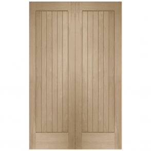 Internal Oak Suffolk Pair Door