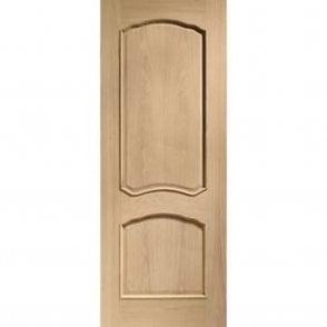 Internal Pre-Finished Oak Louis Door with Raised Mouldings