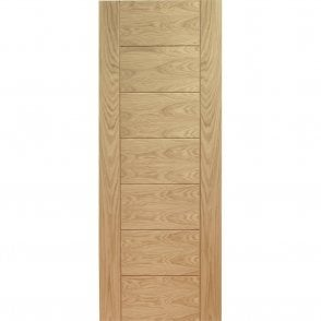 Internal Pre-Finished Oak Palermo Fire Door