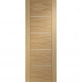 Internal Pre-Finished Oak Portici Door