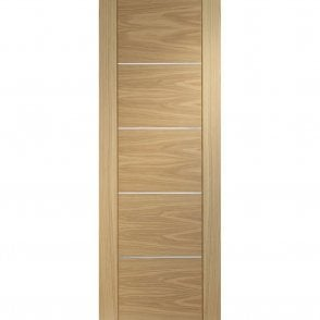 Internal Pre-Finished Oak Portici Fire Door