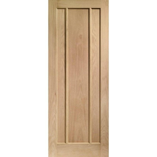 XL Joinery Internal Pre-Finished Oak Worcester 3 Panelled Door