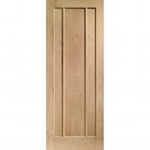 Internal Pre-Finished Oak Worcester 3 Panelled Door