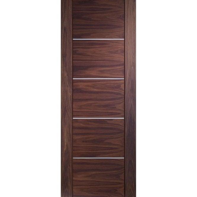 XL Joinery Internal Pre-Finished Walnut Portici Door