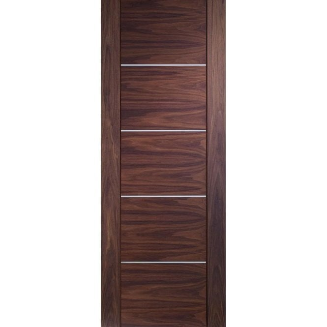 XL Joinery Internal Pre-Finished Walnut Portici Fire Door