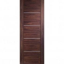 Internal Pre-Finished Walnut Portici Fire Door