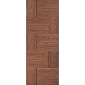 Internal Pre-Finished Walnut Ravenna Door