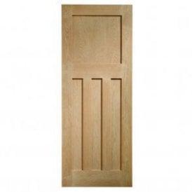 Internal Un-Finished Oak DX Door