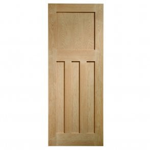 Internal Un-Finished Oak DX Fire Door
