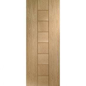 Internal Un-Finished Oak Messina Door