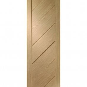 Internal Un-Finished Oak Monza Fire Door